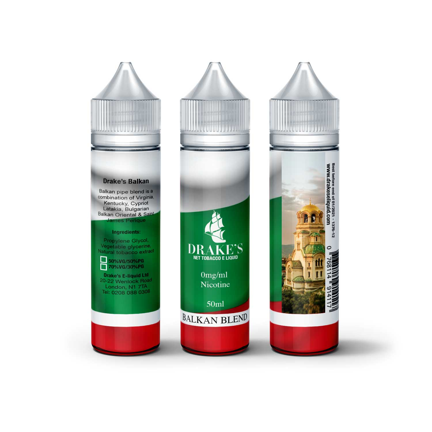 Balkan Pipe Blend Naturally Extracted tobacco e liquid